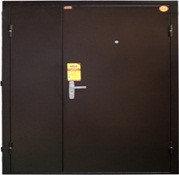 Дверь КВАРТЕТ -2050/1250/104 R/L мет/мет