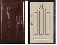 Дверь  СИТИ 2 - 2066/880/980/  L/R  Венге, бел.дуб