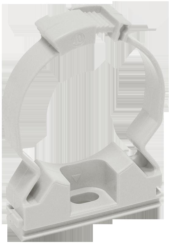 Хомутный держатель серый CFC25 IEK