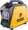 Генератор инверторный GT-2100i, X-Pro 2,1 кВт, 220В, бак 4,1 л, ручной старт// Denzel