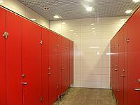 HPL - ПЛАСТИК 12 мм. Сантехнические туалетные кабины.