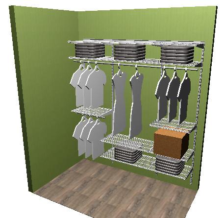 Решения по гардеробным системам