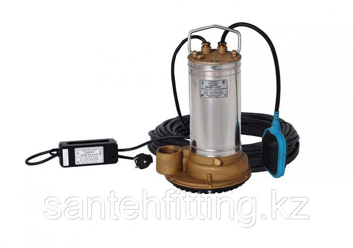 Бытовой центробежный погружной дренажный электронасос БЦПД 3,3-6-У*