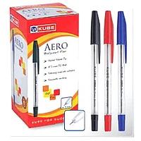 Ручка KUBE AERO NEO синие 1мм масленый стержень