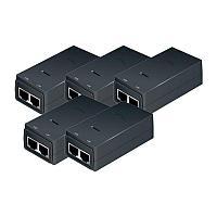 PoE адаптер Ubiquiti POE-24-12W Gigabit 0,5 А 5-pack