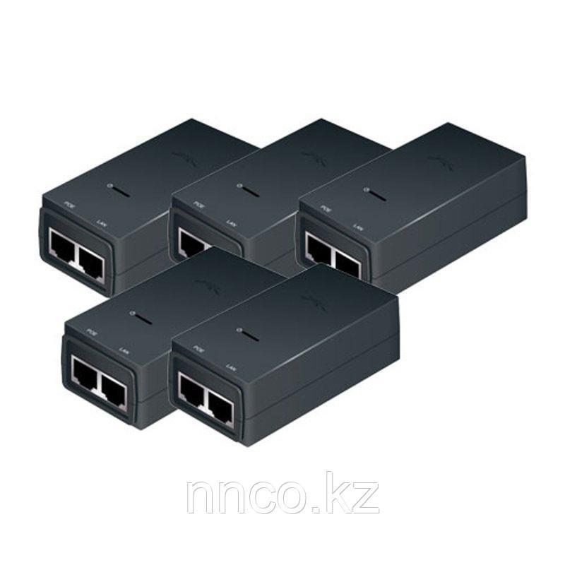 PoE адаптер Ubiquiti POE-24-24W Gigabit 1 A 5-pack