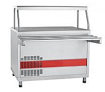 Прилавок холодильный высокотемпературный ПВВ(Н)-70КМ-НШ (Линии раздачи для столовых)
