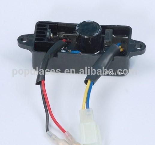 Бензиновый avr 2kw для деталей двигателя дизельный автоматический регулятор напряжения