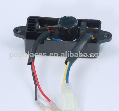 Бензиновый avr 2kw для деталей двигателя дизельный автоматический регулятор напряжения, фото 2