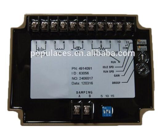 Генератор запасные части скорость блок управления 4914091 для дизель