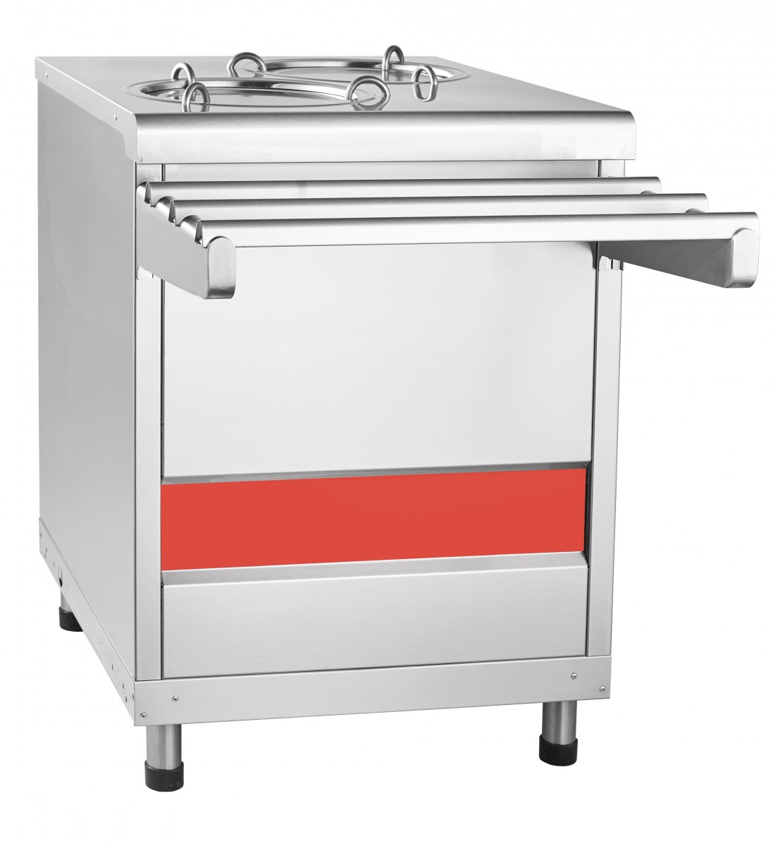 Прилавок ПТЭ-70КМ-80 для подогрева тарелок (Линии раздачи для столовых)