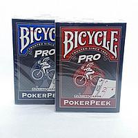 Игральные карты Bicycle Pro Poker Peek