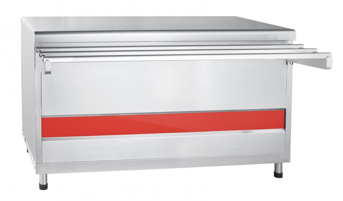 Прилавок для горячих напитков ПГН-70КМ-03 нейтральный стол (Линии раздачи для столовых)