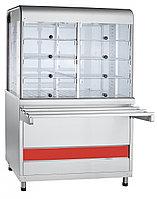 Прилавок-витрина тепловой ПВТ-70КМ (Линии раздачи для столовых)
