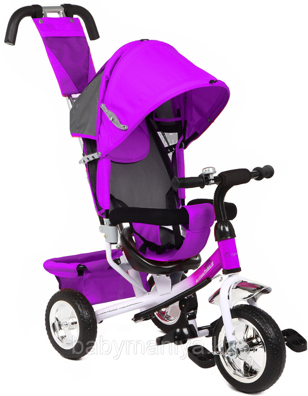 Велосипед Capella Action Trike II 3-х колесный Purple