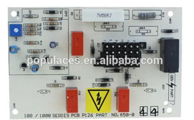 Генератор части печатной платы 650-044 крепления с дизельным двигателем в Fuan, фото 2