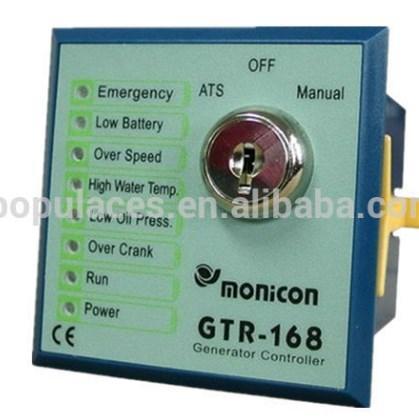 Автоматический запуск модуля управления генераторной установки контроллера GTR-168, фото 2