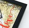 """Интерьерная рамка с шейкером """"Love"""", фото 2"""