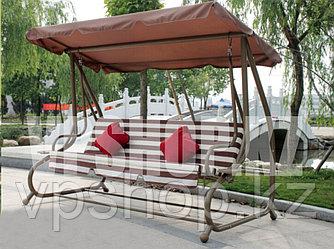 Садовые качели-диван 4-х местные, доставка
