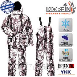 Костюм для зимней охоты и рыбалки  Norfin Hunting WILD SNOW 02 р.M,L,XL,XXL   темп. -30С