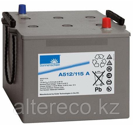 Аккумулятор Sonnenschein A512/115 A (12В, 115Ач), фото 2