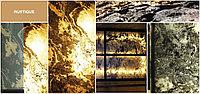 Каменный шпон Rustique на просвет1200х600мм для витражей