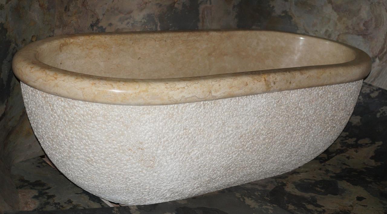 Ванна Lavare Marble Cream