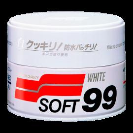 Защитный полироль для (СВЕТЛЫХ) кузова автомобиля Soft Wax SOFT99