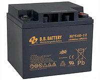 Тяговый аккумулятор B. B. Battery BPS40-12 (BPS40-12FR) (12В, 40Ач)