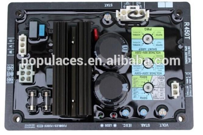 AVR синхронный трехфазный генератор R450M для дизельных двигателей, фото 2