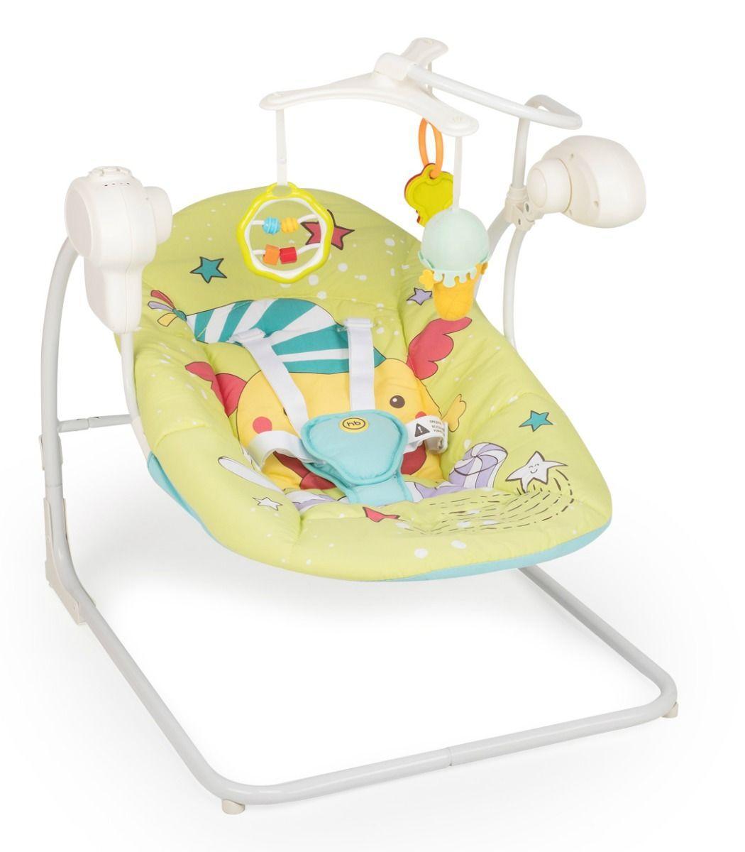 "Happy Baby: Кресло-качели ""Jolly V2"" (green )"