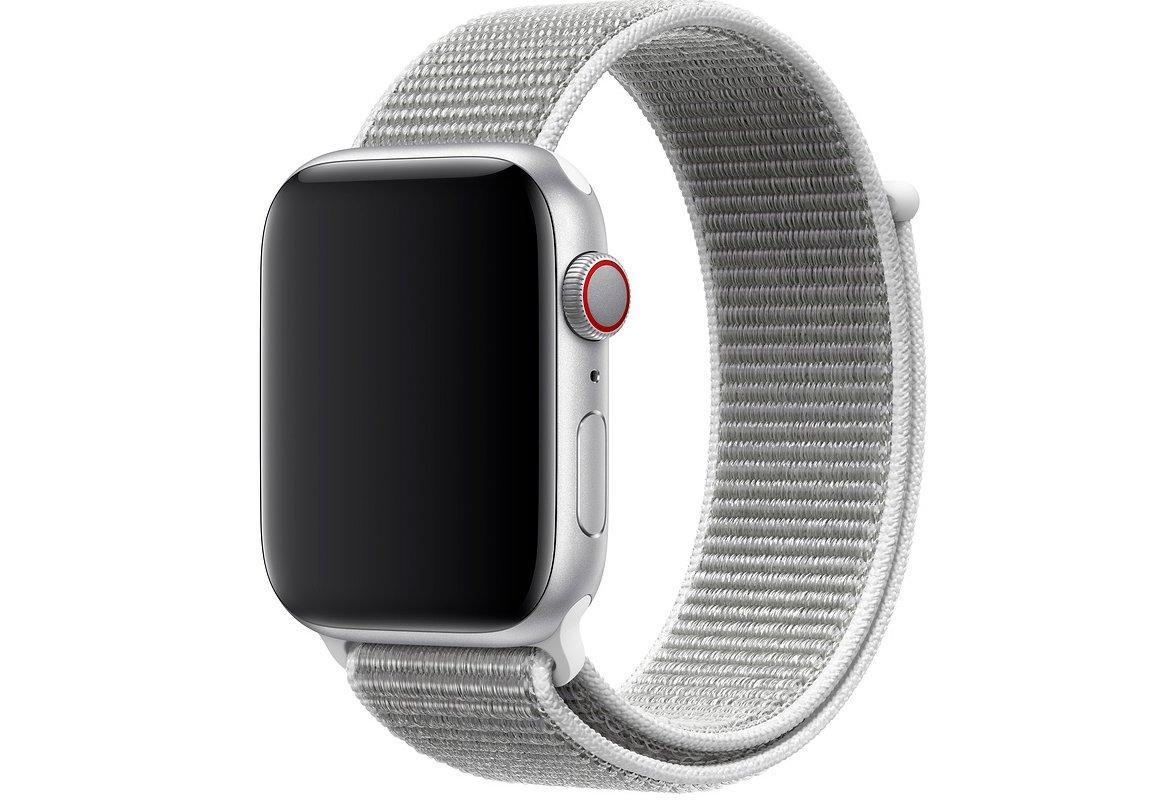 Оригинальный браслет/ремешок для Apple Watch 40мм, спортивный, «белая ракушка» (MTLV2ZM/A)