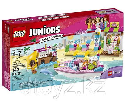 Lego Juniors 10747 День на пляже с Андреа и Стефани Лего Джуниорс