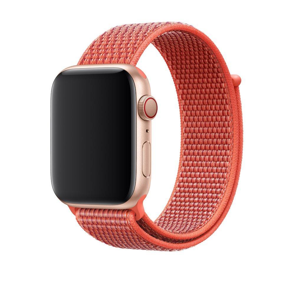 Браслет/ремешок для Apple Watch 40мм, спортивный, «спелый нектарин» (MTLW2ZM/A)