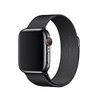 Браслет/ремешок для Apple Watch 44мм, миланский сетчатый, «чёрный космос» (MTU52ZM/A), фото 1
