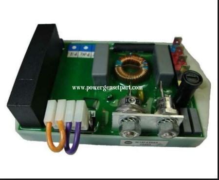 Генератор части автоматический регулятор напряжения avr M16FA650A, фото 2