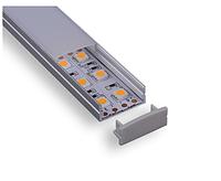 Led профиль для светодиодной ленты 20x10мм C004