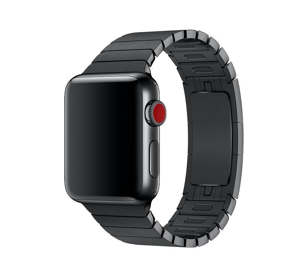 Браслет/ремешок для Apple Watch 38мм, блочный черный (MJ5H2ZM/A)
