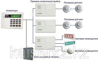 Установка, монтаж и обслуживание пожарной сигнализации Алматы и Алматинской области