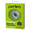 Кабель PERFEO для iPhone 5/6, USB - 8 PIN (Lightning), плоский кабель, зеленый, длина 1 м. (I4402)