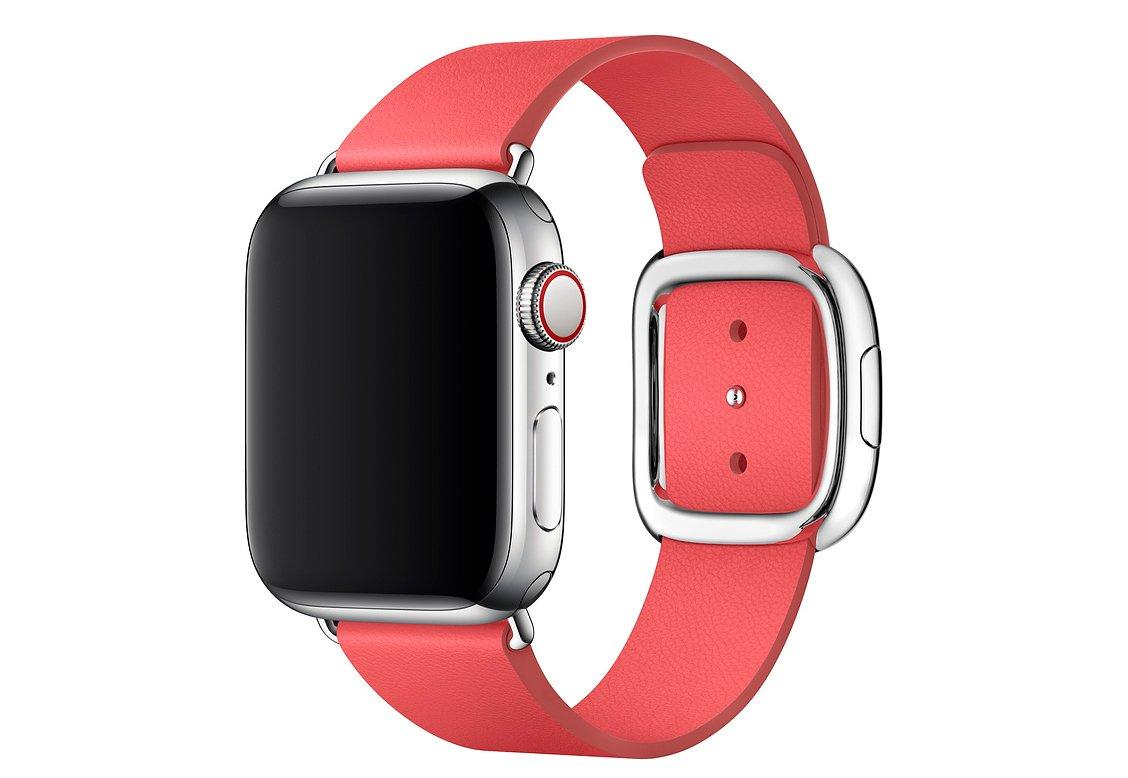 Браслет/ремешок для Apple Watch 40мм, с современной пряжкой, размер S, «розовый пион» (MTQP2ZM/A)
