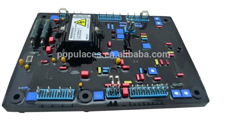Diesel генератор Универсальный AVR MX321-A красный Емкость