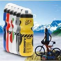Спортивная бутылка фляга шейкер для воды, протеина. Вело фляга. DISCOVERY, фото 1