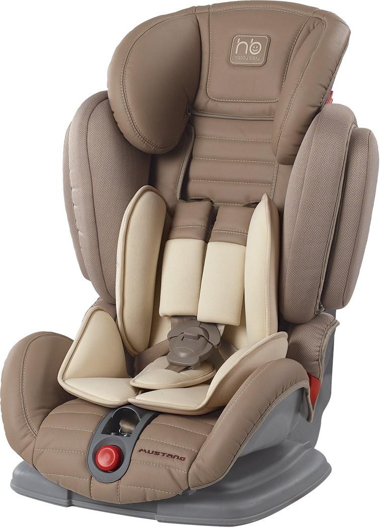 Автокресло Happy Baby Mustang Beige