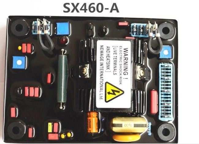 100KW дизель SX460-A регулятор напряжения многофункциональный генератор, фото 2