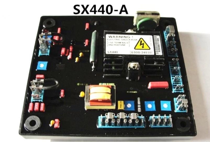 Бесщеточный генератор AVR SX440-A