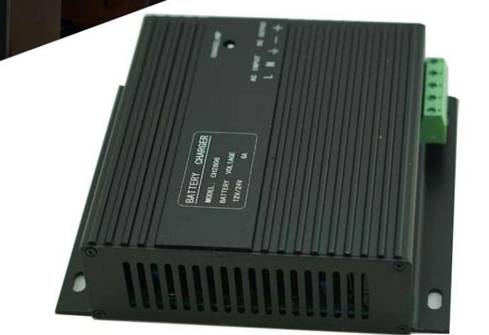 12 В 24 В 6A дизель-генератор зарядное устройство ручной регулировки, фото 2