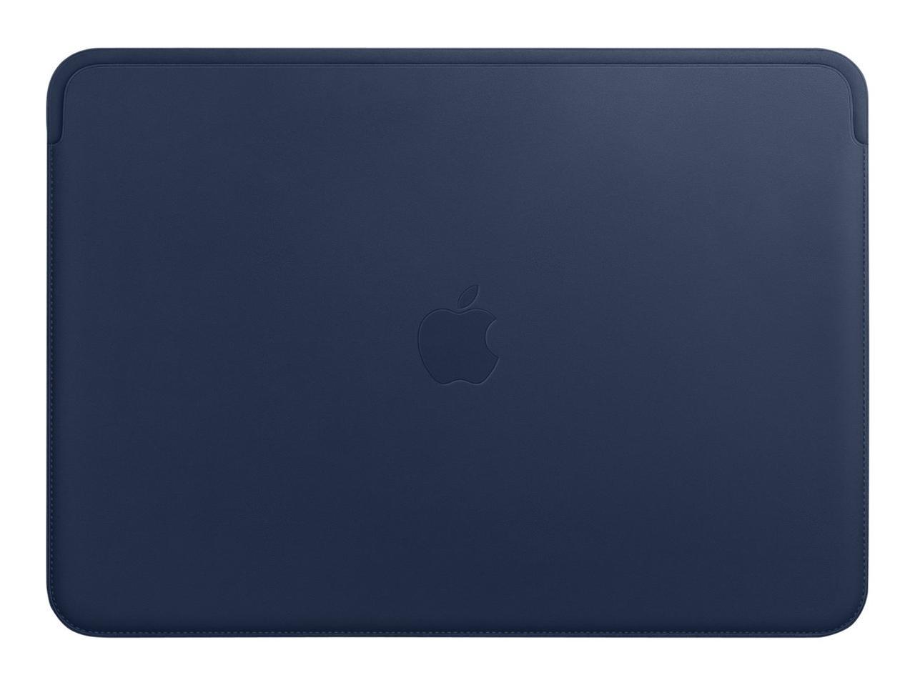 "Чехол для MacBook 13"" Apple Leather Sleeve, тёмно-синий (MRQL2ZM/A)"