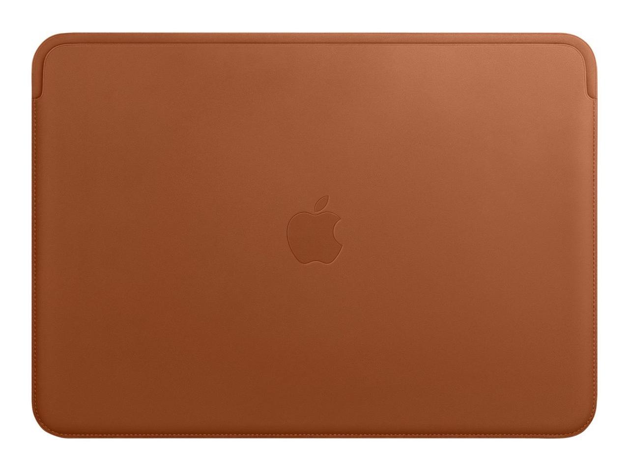"Чехол для MacBook 15"" Apple Leather Sleeve, коричневый (MRQV2ZM/A)"