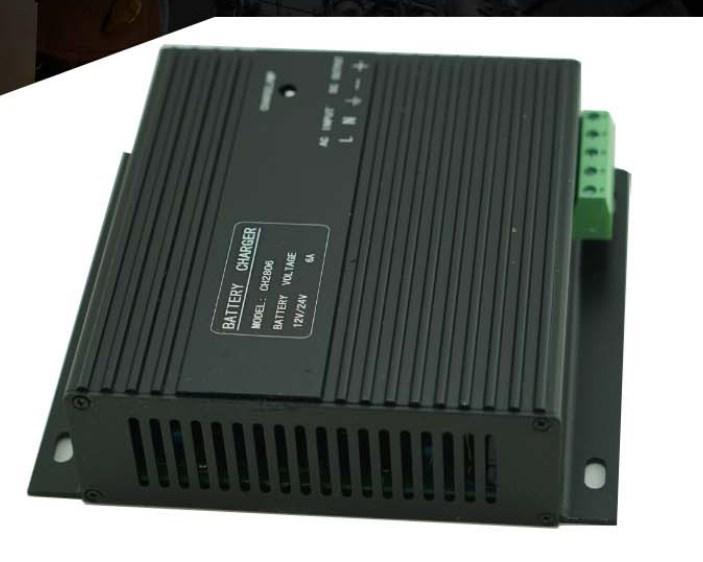 Генератор 12 В 24 В автоматическое зарядное устройство ZH-CH2806 6A